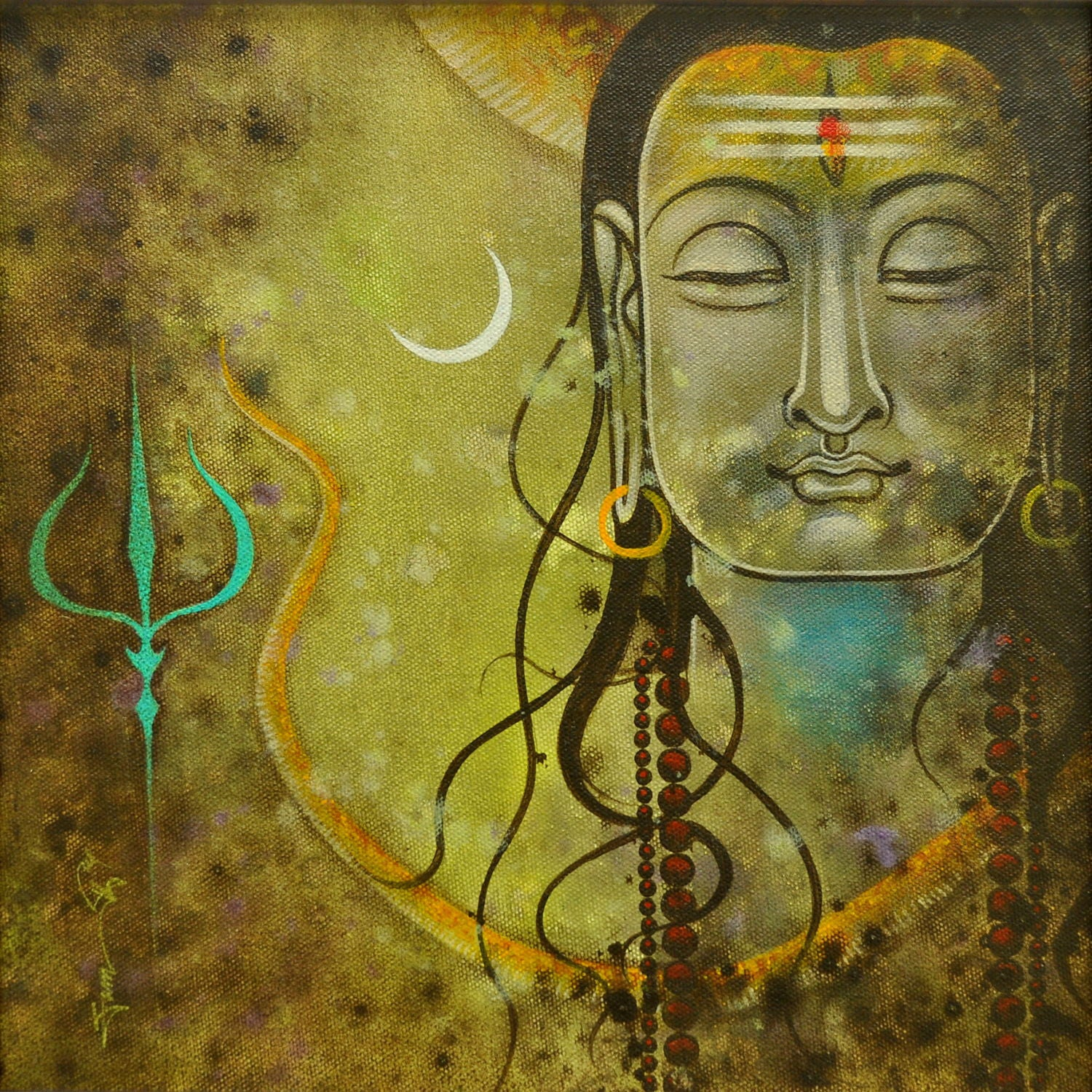 Shiva Paintings | Buy Posters, Frames, Canvas, Digital Art & Large Size Prints