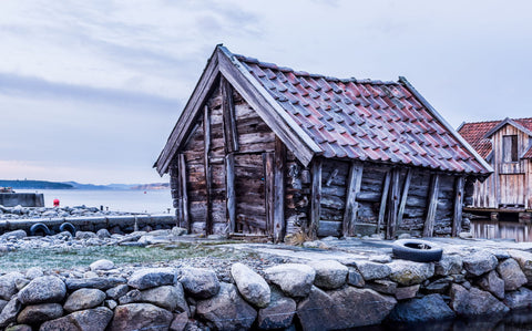Old Boathouse - Art Prints