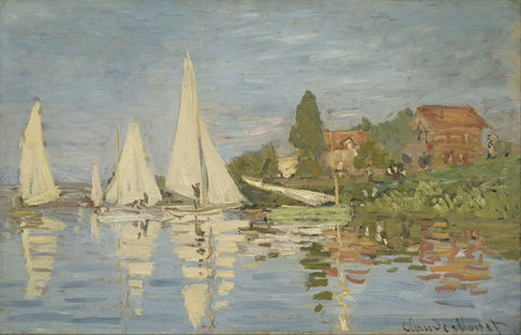 Regattas At Argenteuil
