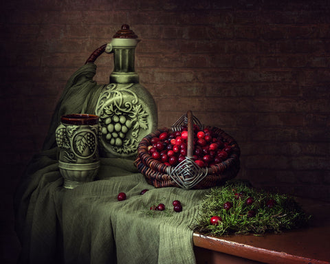 Cranberry Juice by Iryna Prykhodzka