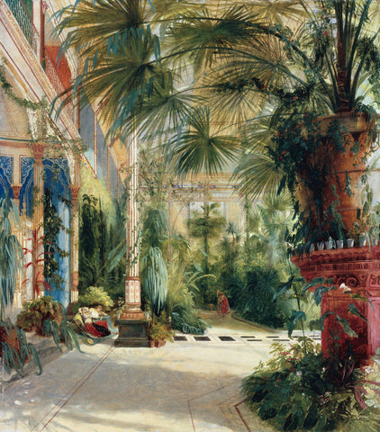 The Interior Of The Palm House - Large Art Prints