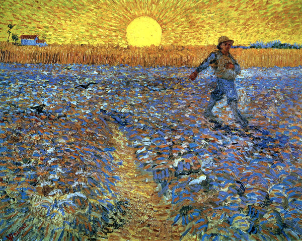 Artwork of The Sower by Vincent Van Gogh