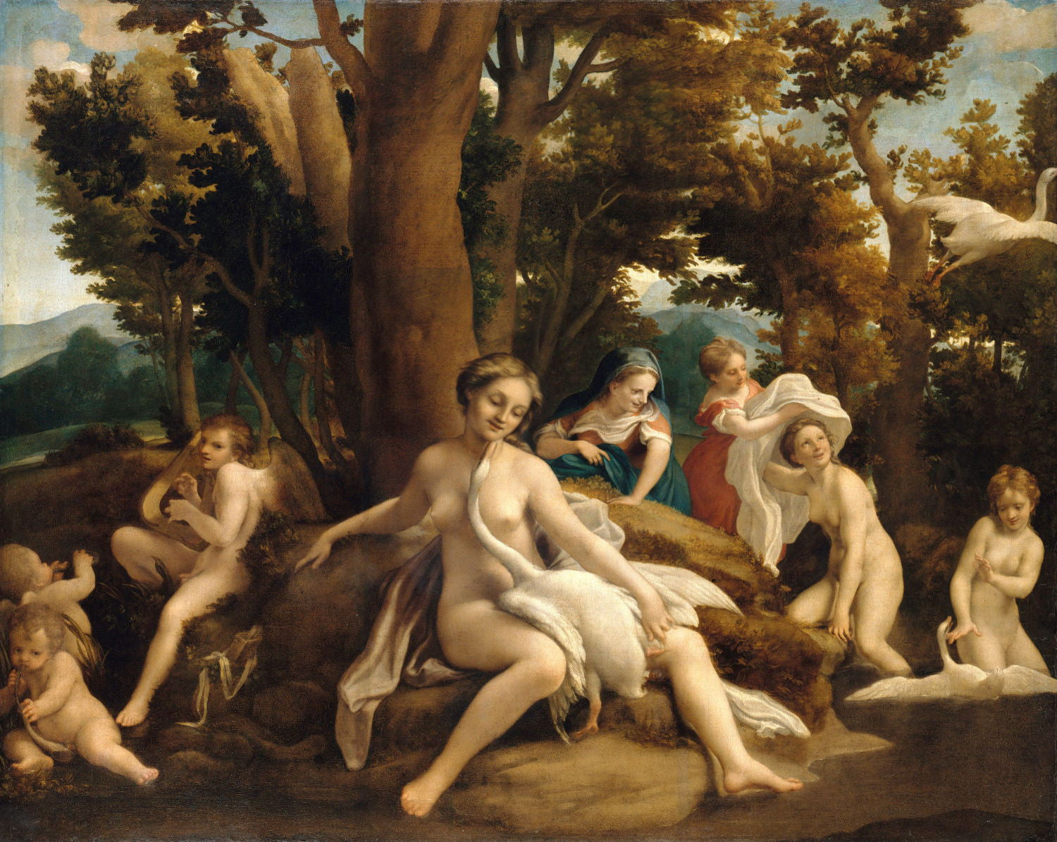 Antonio Allegri da Correggio | Buy Posters, Frames, Canvas, Digital Art & Large Size Prints Of The Famous Old Master's Artworks