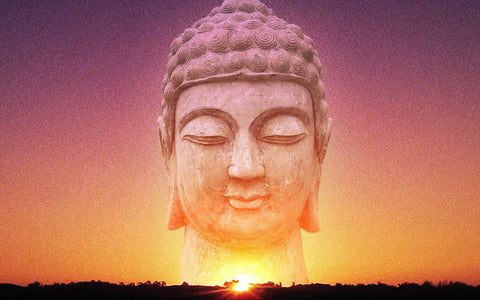 Buddha And The Sky by Sina Irani