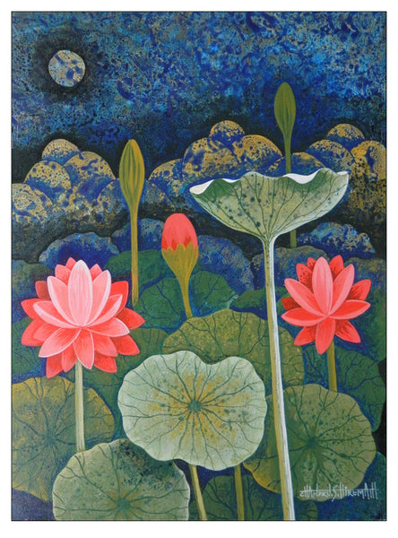 Lotus by Chandru S Hiremath | Tallenge Store | Buy Posters, Framed Prints & Canvas Prints