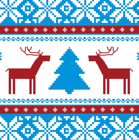 Traditional Christmas Stitch Design