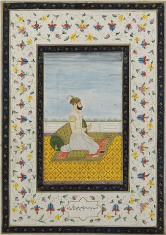 Indian Miniature Art - Rajput painting - King Rao Jodha