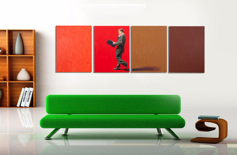 Abstract Painting Business Colours - Art Panels
