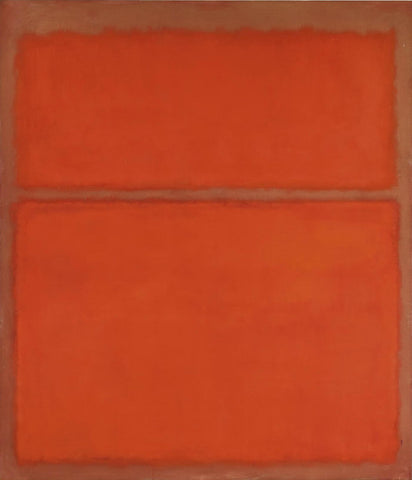 1961 Untitled - Mark Rothko Color Field Painting