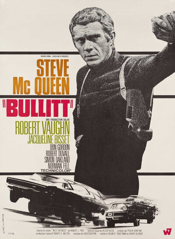 Bullitt - Steve Mc Queen - Large Art Prints