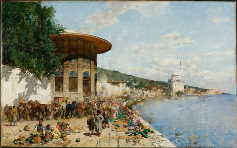 Market Day in Constantinople
