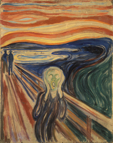 The Scream - ( Der Schrei der Natur ) - Edvard Munch