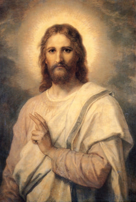 Christ in White by Heinrich Hofmann | Buy Posters, Frames, Canvas  & Digital Art Prints