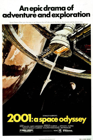 2001 A Space Odyssey - Movie Poster - Tallenge Hollywood Collection - Canvas Prints