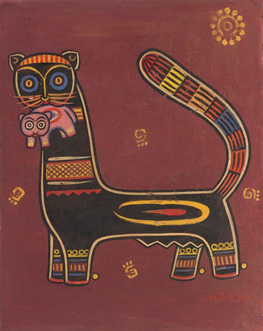 Jamini Roy -  Panther