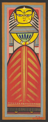 Jamini Roy -  Untitled (Doll)