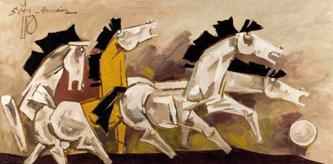 Running Horses - Large Art Prints
