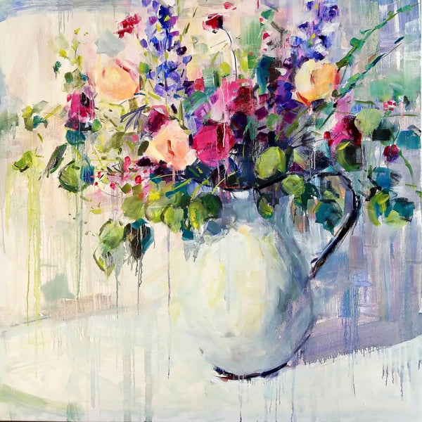 Acrylic Flower Bouquet - Large Art Prints