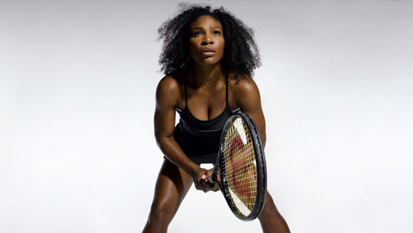 Photograph of Spirit Of Sports - Women's Tennis Champion - Serena Williams by Christopher Noel