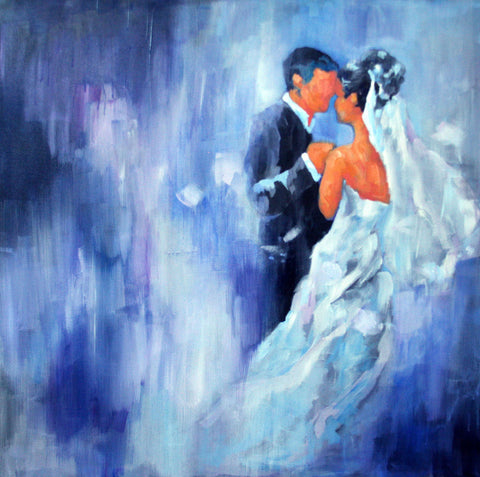 Dance of Love Painting by Sina Irani