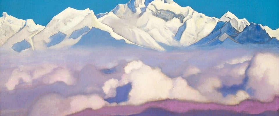 Himalayas from the Sikkim by Nicholas Roerich | Buy Posters, Frames, Canvas  & Digital Art Prints
