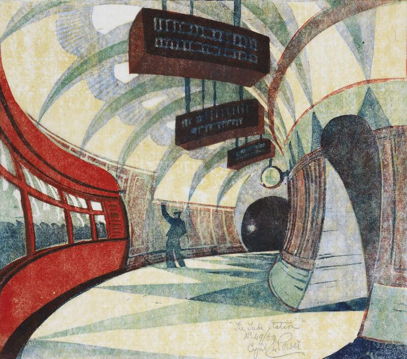 The Tube Station - Art Prints