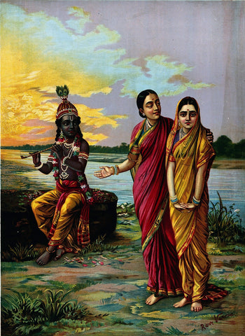 Radha Introduced to Krishna