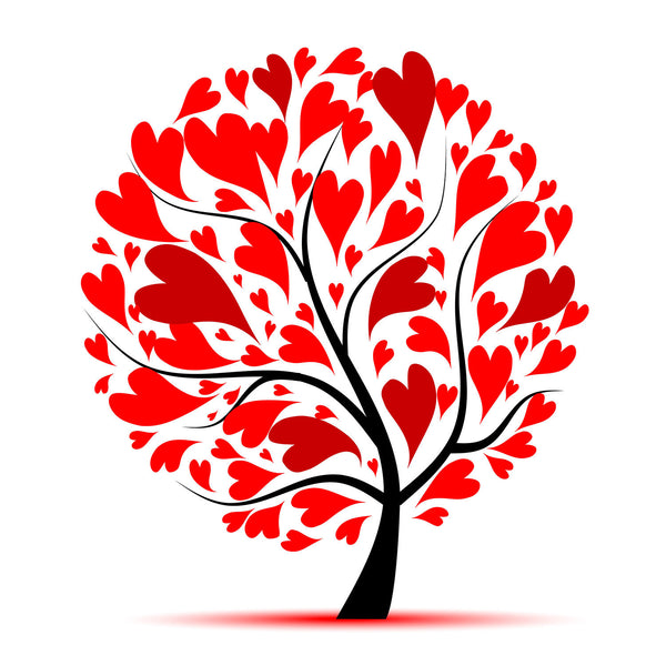 Valentine's Day Gift - Tree of Heart - Posters