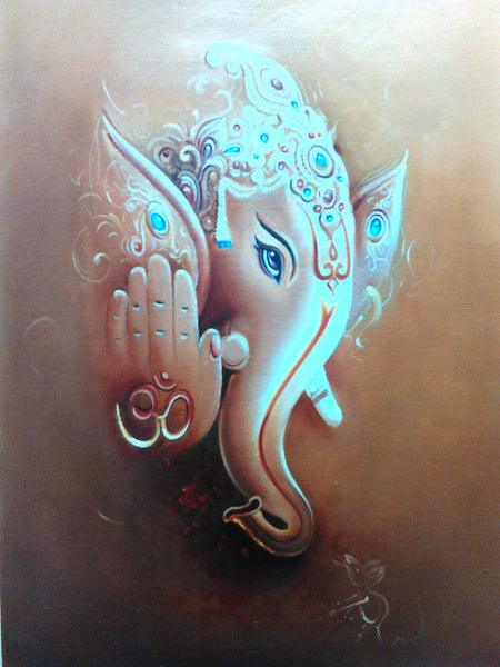 Vinayakar by Santhanalakshmi Nagarajan | Tallenge Store | Buy Posters, Framed Prints & Canvas Prints