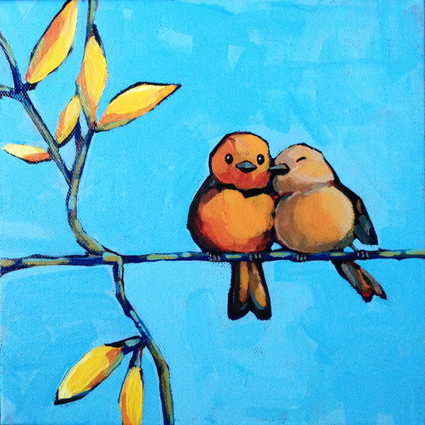 Cute Love Painting By Sina Irani Buy Posters Frames Canvas Amp Digital Art Prints