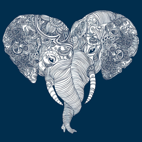 Valentines Day Gift - Love Elephant by Sina Irani