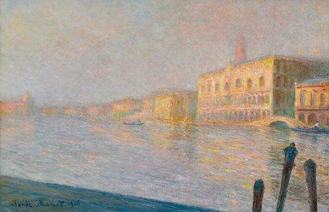 The Doges Palace (Le Palais ducal) - Claude Monet