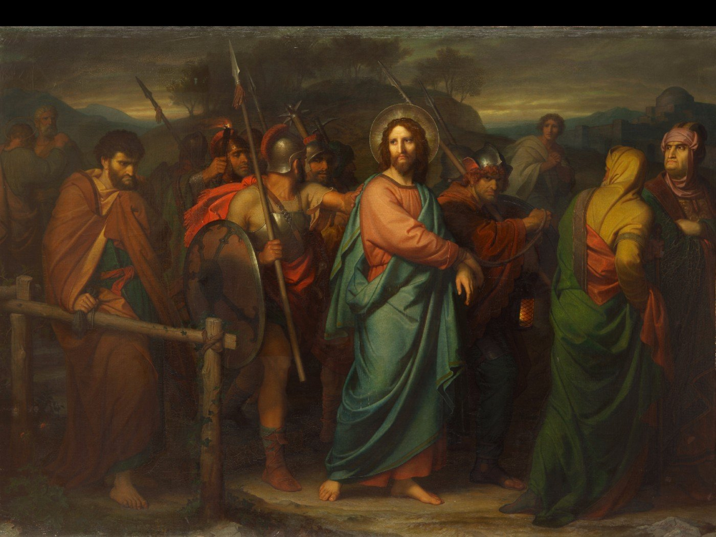 the capture of christ posters by heinrich hofmann buy posters