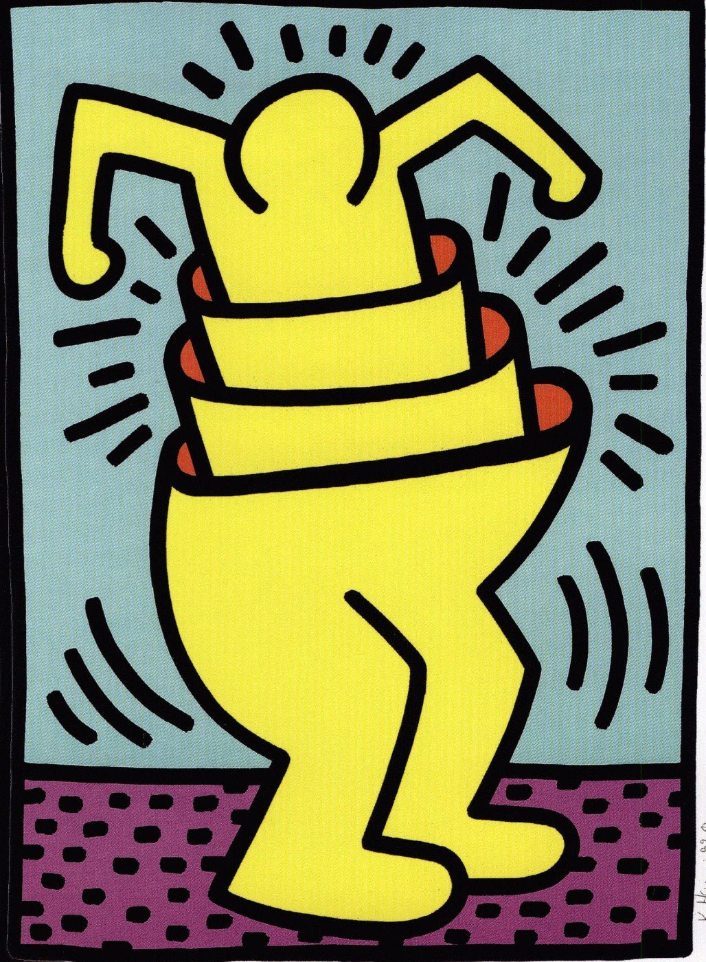 Puzzle - Art Prints by Keith Haring   Buy Posters, Frames, Canvas ...