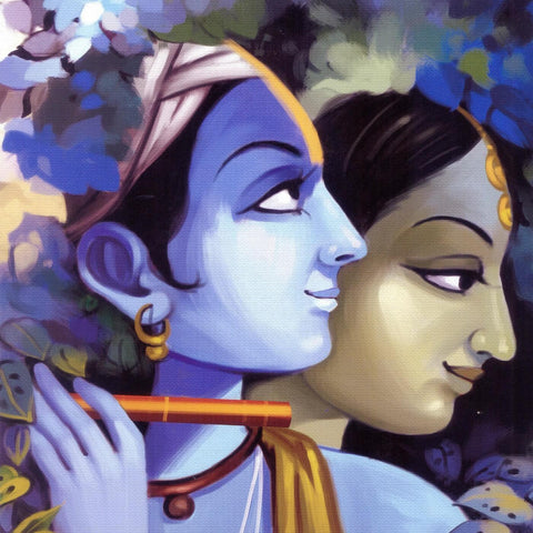 Indian Art - Radha Krishna