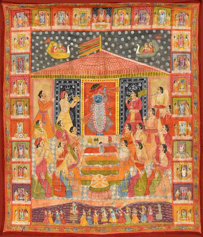 Indian Miniature Art - Pichwai Paintings by Vineeta Randhawa