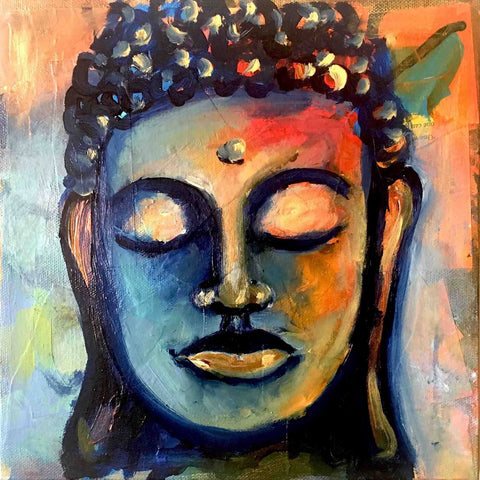 A Calming Presence - Buddha - Canvas Prints