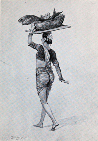 A Koli (Fisher) Woman - M V Dhurandhar - Indian Masters Artwork by M. V. Dhurandhar
