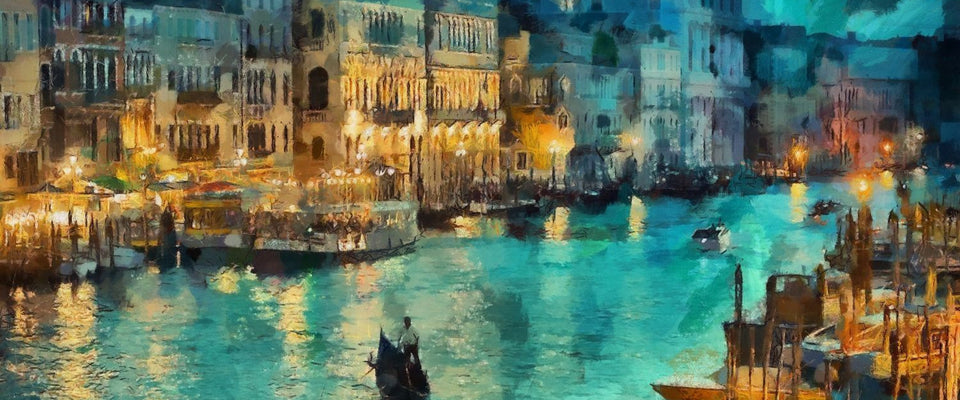 A Beautiful View of Venice by Sina Irani | Buy Posters, Frames, Canvas  & Digital Art Prints