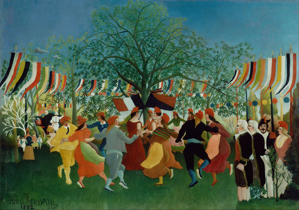 Large Artwork Prints of A Centennial of Independence - Large Art Prints by Henri Rousseau