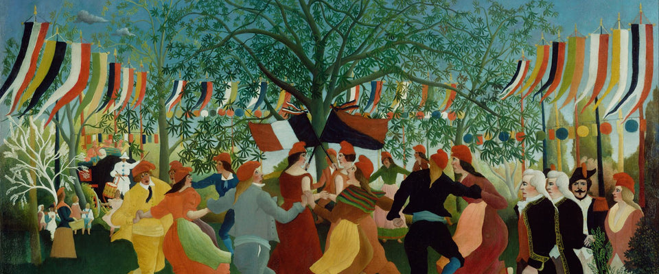 A Centennial of Independence by Henri Rousseau | Buy Posters, Frames, Canvas  & Digital Art Prints