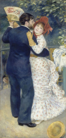 A Dance In The Country by Pierre-Auguste Renoir