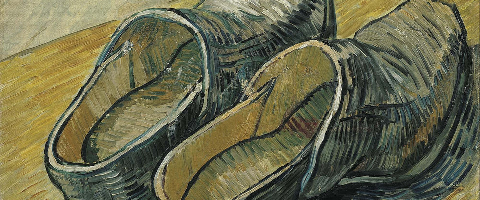 A Pair of Leather Clogs by Vincent Van Gogh | Buy Posters, Frames, Canvas  & Digital Art Prints