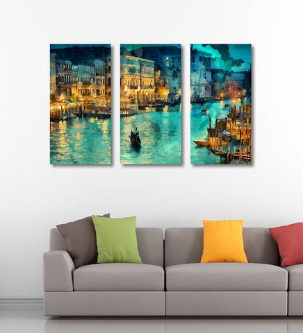 A Beautiful View of Venice - Art Panels by Sina Irani