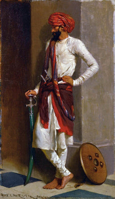 A Kattiwar Sentry - Horace Van Ruth by Horace Van Ruith | Buy Posters, Frames, Canvas  & Digital Art Prints