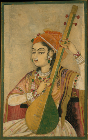 Indian Miniature Art - Music Of The Mughal Court