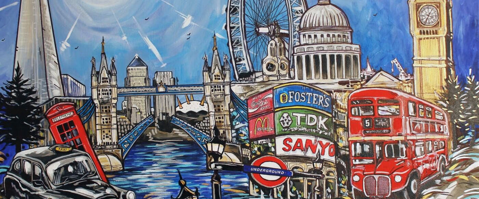 A London Day - London Photo and Painting Collection by Sarah | Buy Posters, Frames, Canvas  & Digital Art Prints