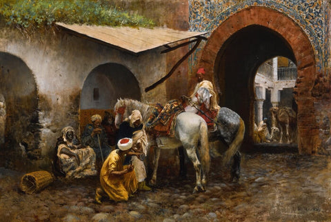 A Moorish Blacksmith