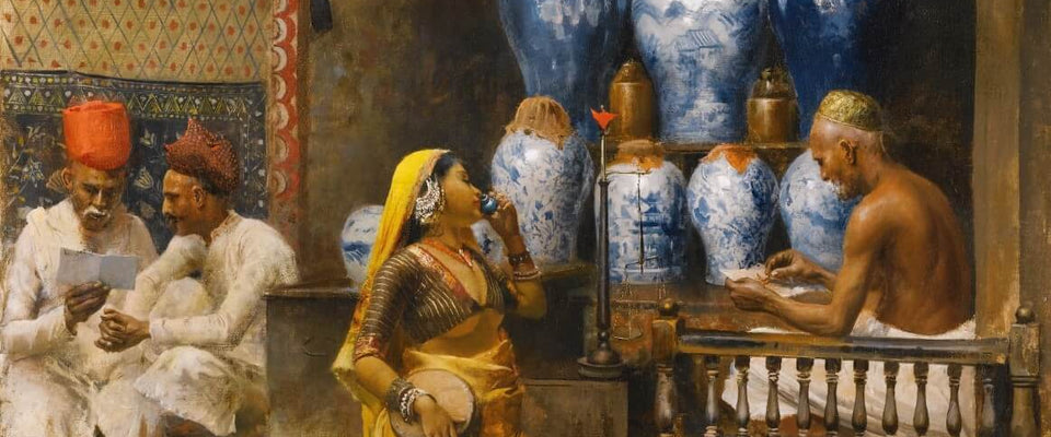 A Perfumer's Shop, Bombay by Edwin Lord Weeks | Buy Posters, Frames, Canvas  & Digital Art Prints