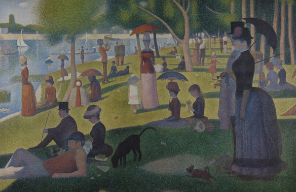 A Sunday Afternoon on the Island of La Grande Jatte - Canvas Prints